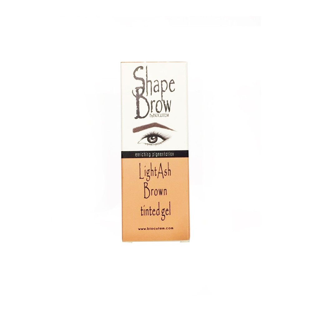 Shape Brow Light Ash tinted gel in the box
