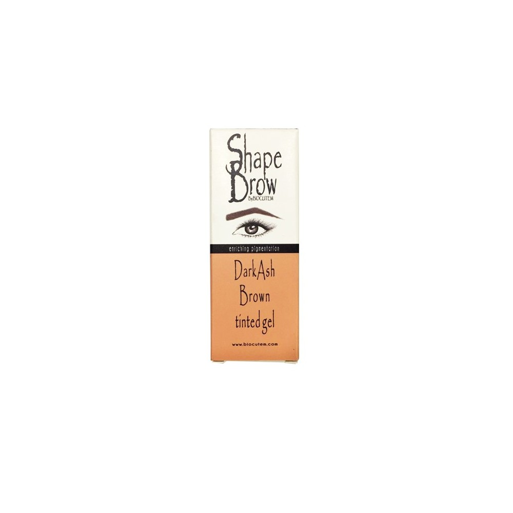 Shape Brow Dark Ash tinted gel in box.