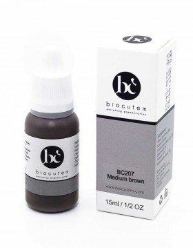 Micro pigment MEDIUM BROWN bottle with box