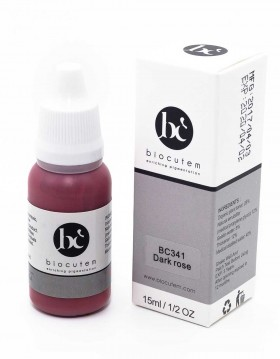 Biocutem Micro pigment DARK ROSE bottle and box