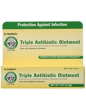 Dr. Sheffield's Triple Antibiotic Ointment, 0.33 oz