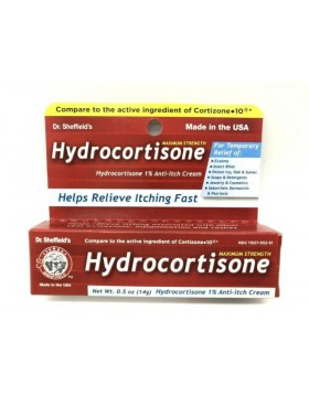 Hydrocortisone 1% Maximum Strength