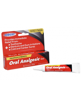 Gel analgésique oral Iodent à soulagement rapide 0,42 oz
