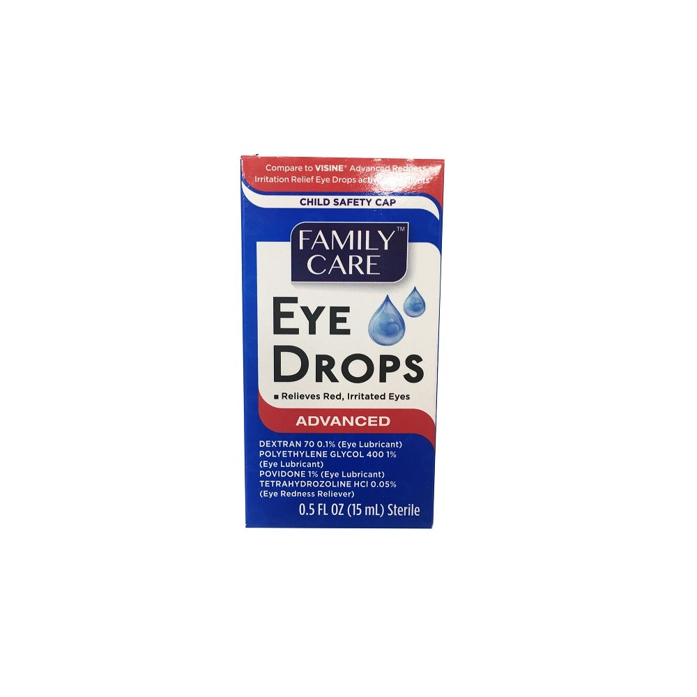 Family Care Eye Drops Advanced Formula 0.5oz